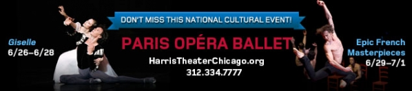 Paris Opera Ballet at The Harris Theater - Don't Miss This National Cultural Event!