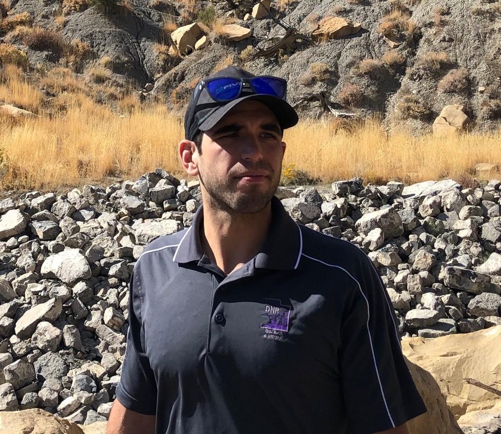 Kent Phillips, Project Manager, Utah Abandoned Mine Reclamation Program.