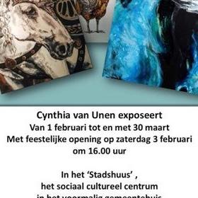 Expositie Cynthia van Unen