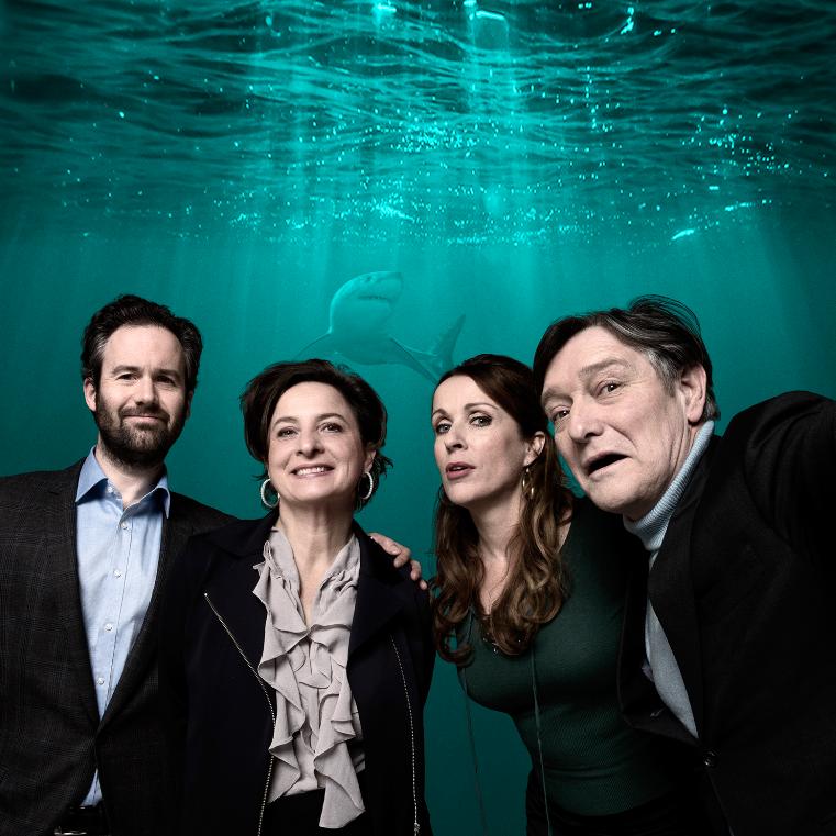 Pierre Bokma, Jacqueline Blom, Annick Boer en Guy Clemens