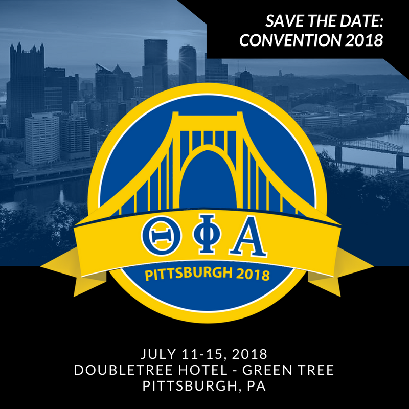 Save the Date for the 2018 National Convention