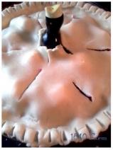 1840 Farm Raspberry Pie