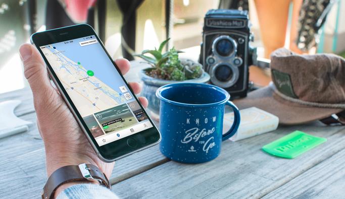 Surfline's new app