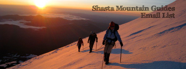 Shasta Mountain Guides Email List