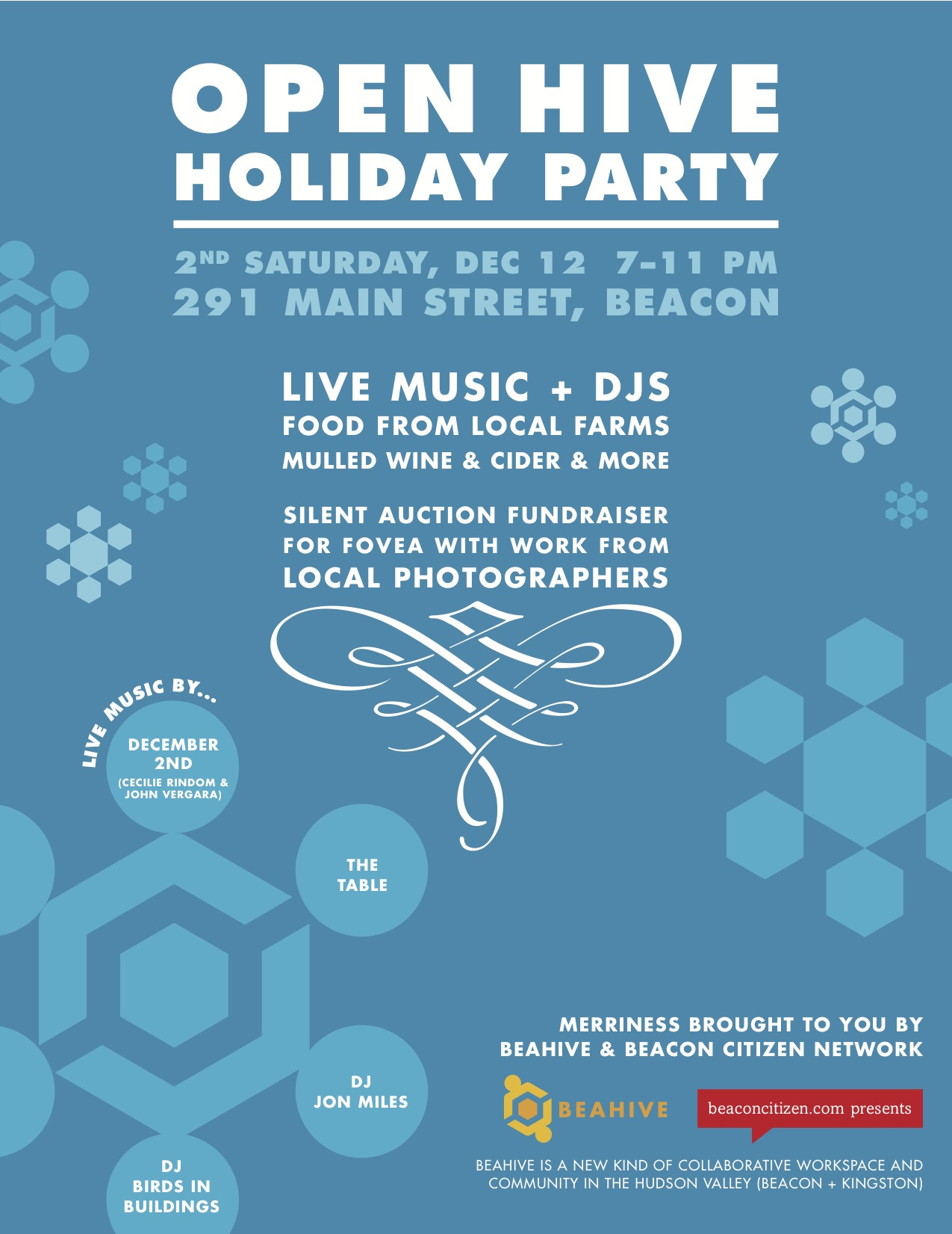 OPEN HIVE Holiday Party