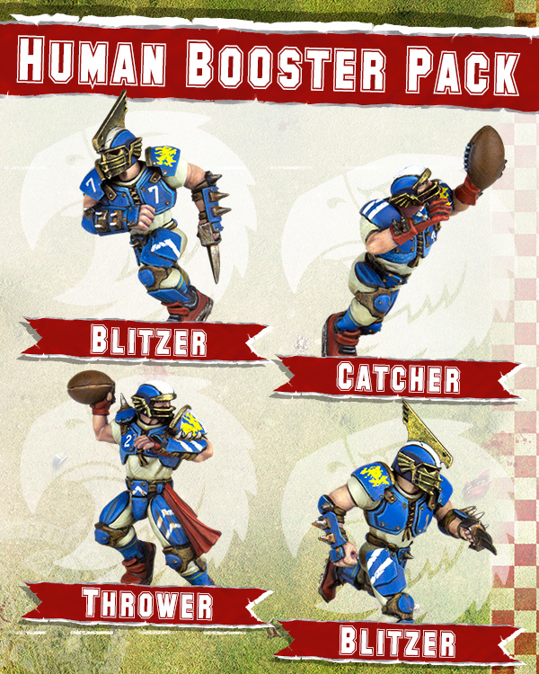 Human Booster Pack