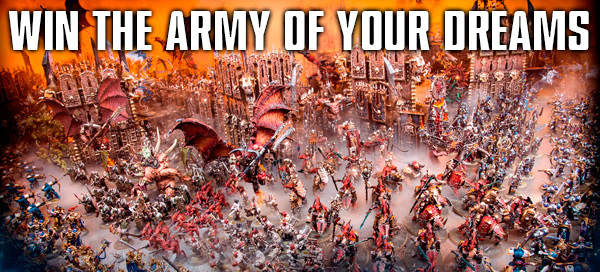 Win the Army of your Dreams