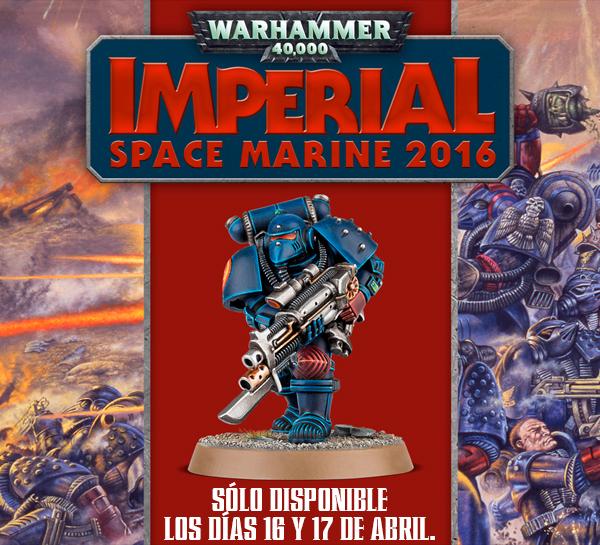 ¡Una nueva versión estrictamente limitada del Space Marine original!