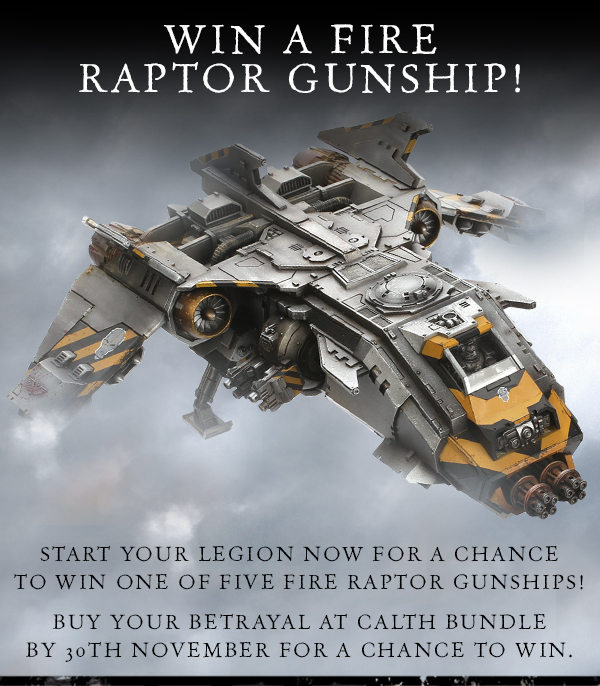 Win a Fire Raptor!