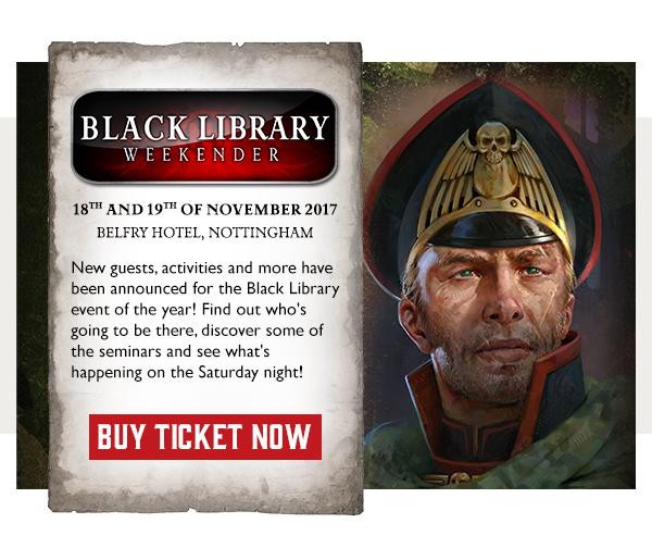 Black Library Weekender