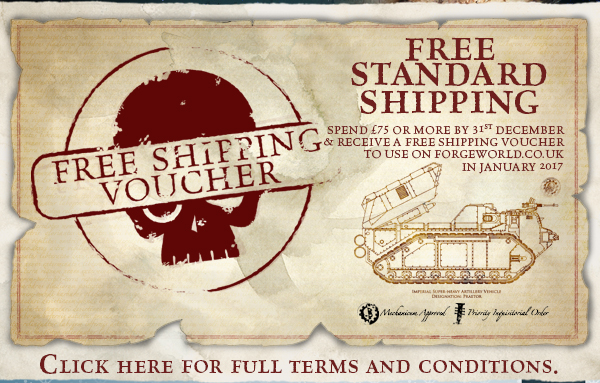 Forge World Free Shipping Voucher Offer