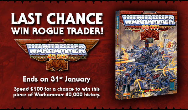 Win a copy of Warhammer 40,000: Rogue Trader
