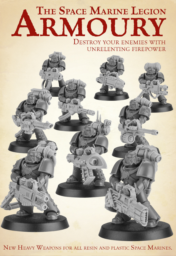 New Space Marine Heavy Weapons
