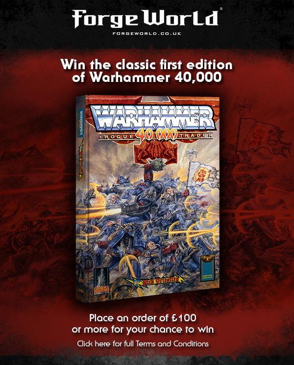 Win Warhammer 40,000: Rogue Trader