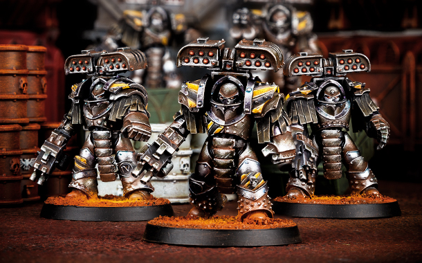 Iron Warriors legion Tyrant Siege