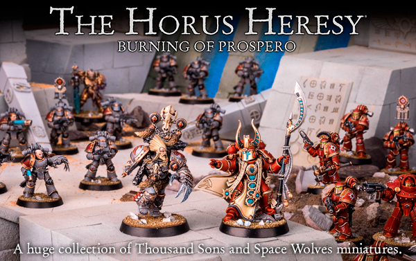 Horus Heresy Burning of Prospero
