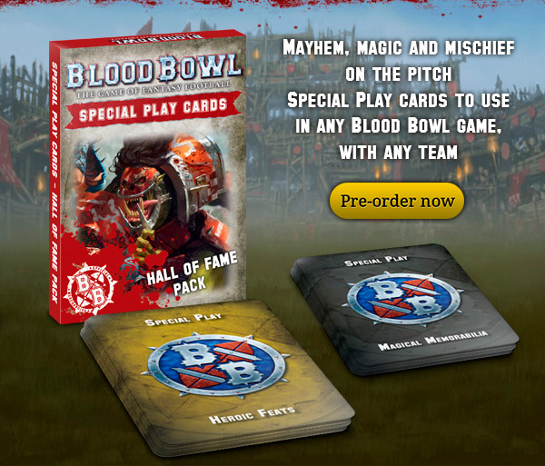 Blood Bowl Cards