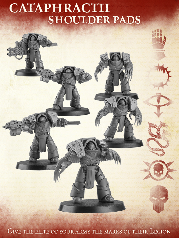 Cataphractii Shoulder Pads