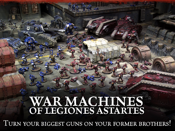 War Machines of the Legiones Astartes