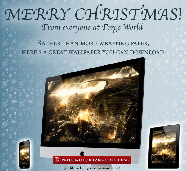 Merry Christmas from Forge World