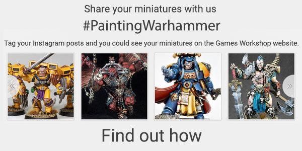 #PaintingWarhammer