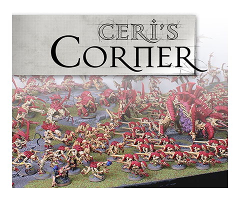 Ceri's Corner