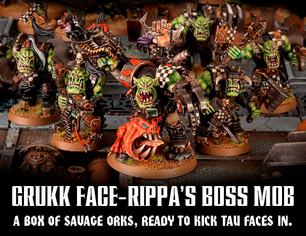 Grukk Face-rippa's Boss Mob