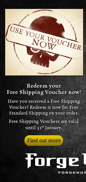 Use your Free Shipping Voucher