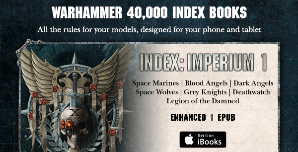 Warhammer 40,000 Index: Imperium 1 Enhanced