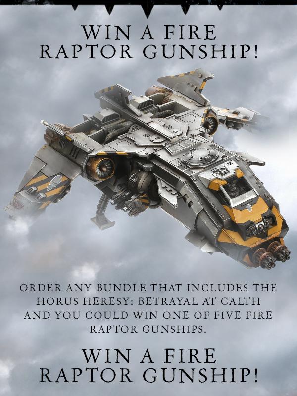 Win a Fire Raptor Gunship