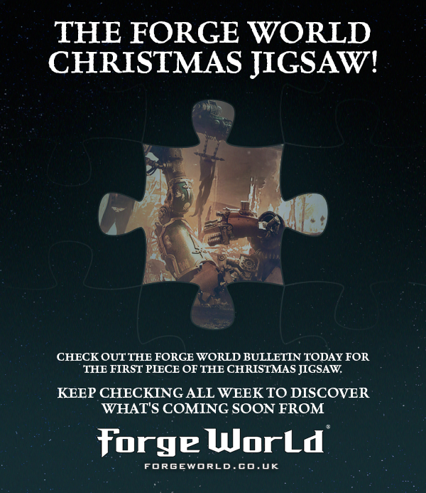 The Forge World Christmas Jigsaw