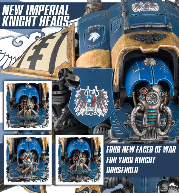 Imperial Knight Heads