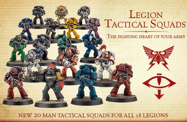 Legion Tactical Squads