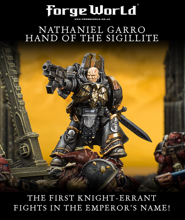 Nathaniel Garro, Hand of the Sigillite