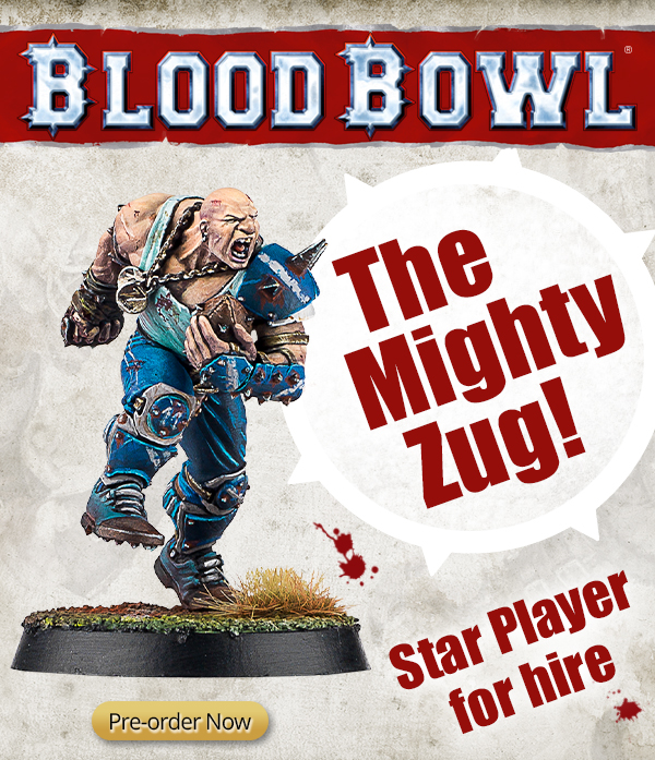 The Mighty Zug - Blood Bowl Star Player