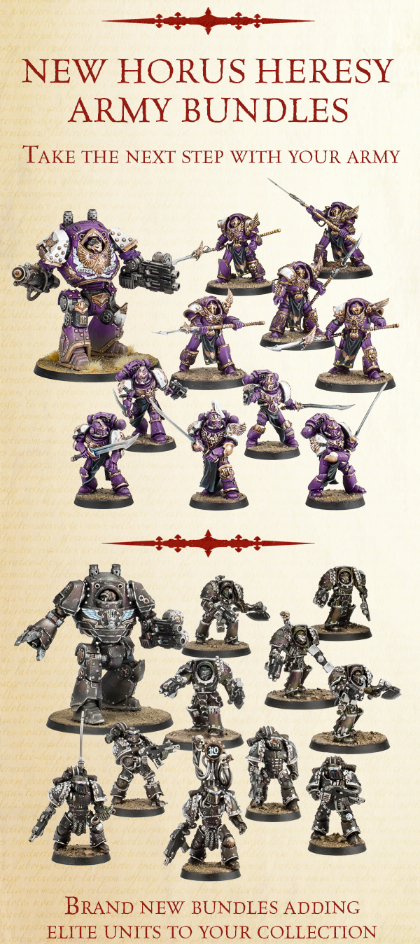 New Horus Heresy Bundles