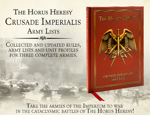 Crusade Imperialis Army Lists