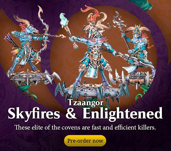 Tzaangor Skyfires & Enlightened