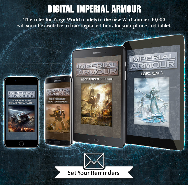 Digital Imperial Armour Indexes