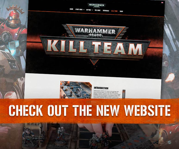 Kill Team Website