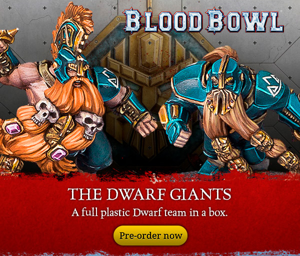 Blood Bowl Dwarf Giants