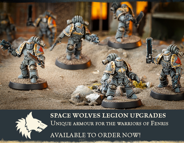 Space Wolves Legion Upgrades