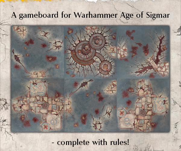 Shattered Dominion Gameboard