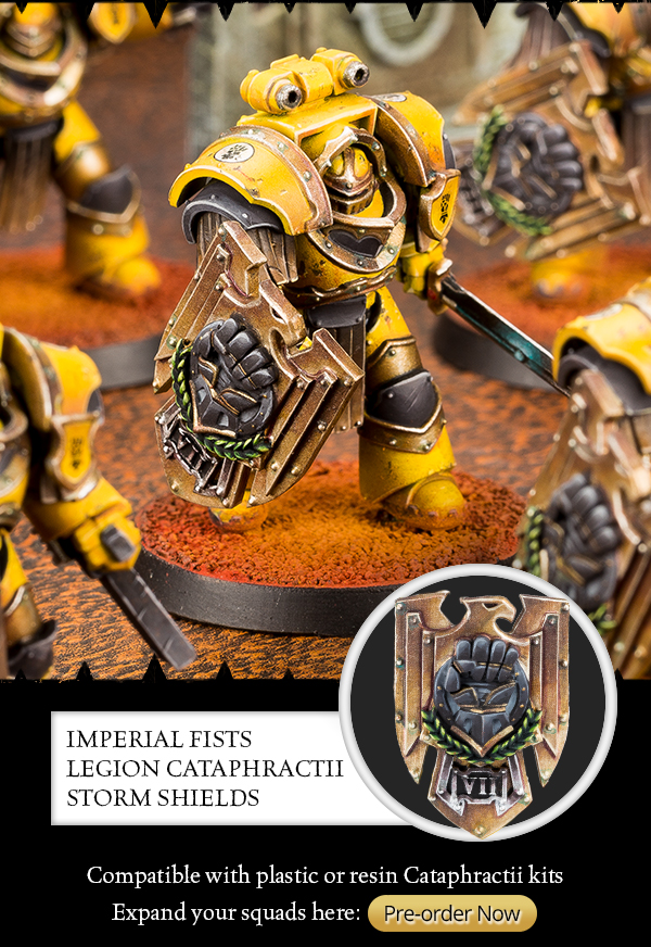 Compatible with plastic or Resin Cataphractii, Pre-order now