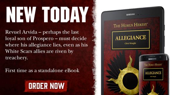 The Horus Hersey: Allegiance