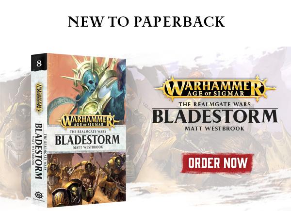 The Realmgate Wars: Bladestorm paperback