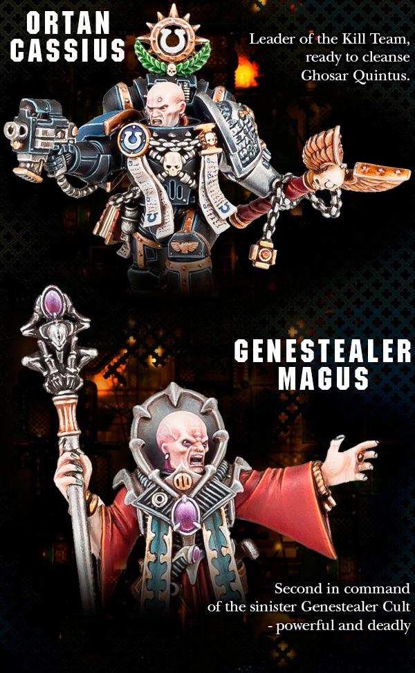 Orton Cassius - Genestealer Magus