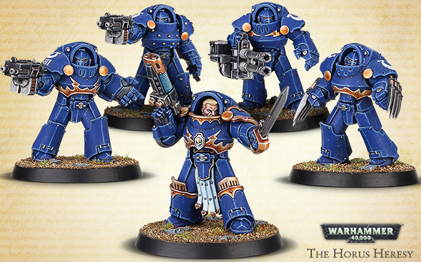 The Horus Heresy: Tartaros Terminators