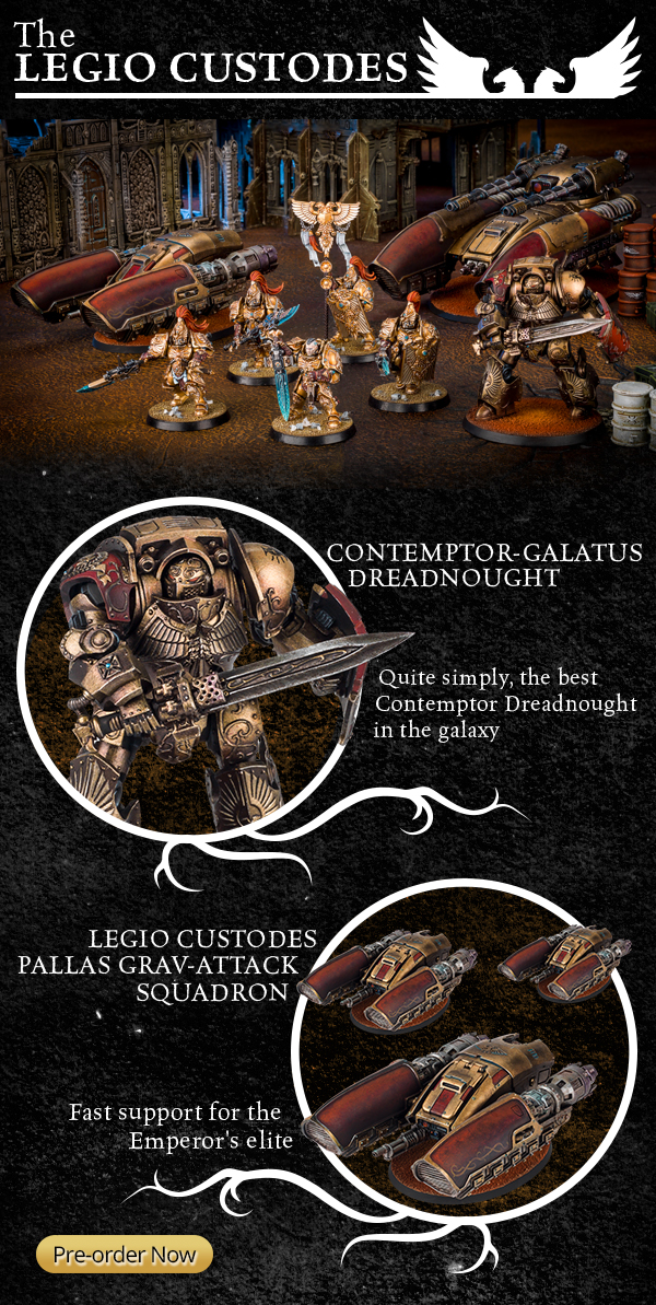 Legio Custodes New Releases