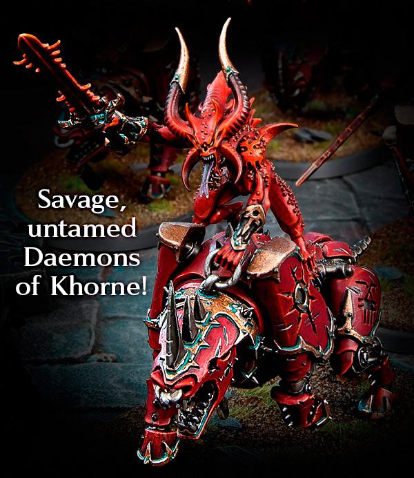 Khorne Daemons